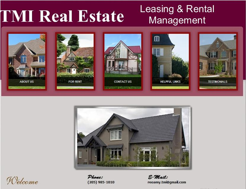 TMI Real Estate - Rental & Leasing Management